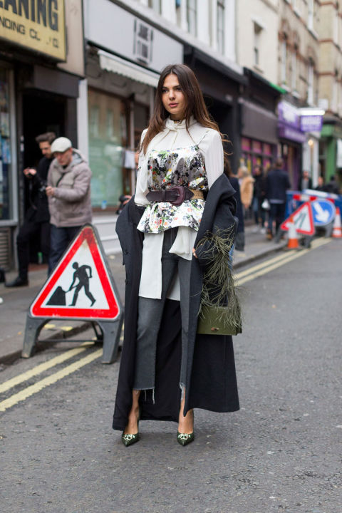 Streetstyle London Fashion Week Fashionfreaks