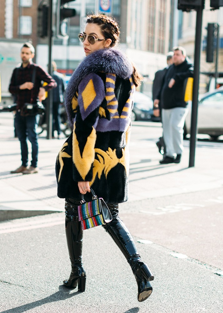 London Fashion Week A W 2017 Street Style Part 2