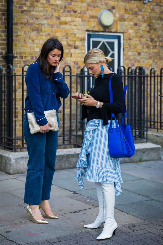 London Fashion Week S S 2018 Street Style Fashionfreaks