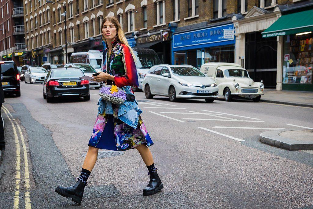 London Fashion Week S S 2018 Street Style Fashionfreaks