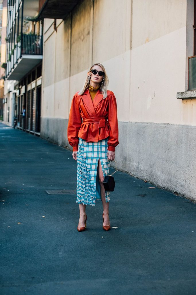 Milan Fashion Week Spring/ Summer 2018 Street Style ...