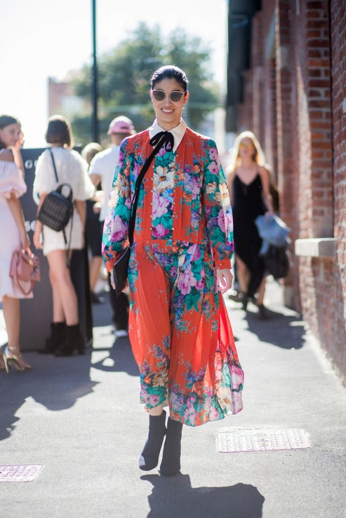 Milan Fashion Week Spring Summer 2018 Street Style Fashionfreaks
