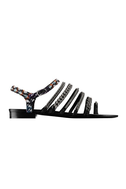 Sandals-Chanel