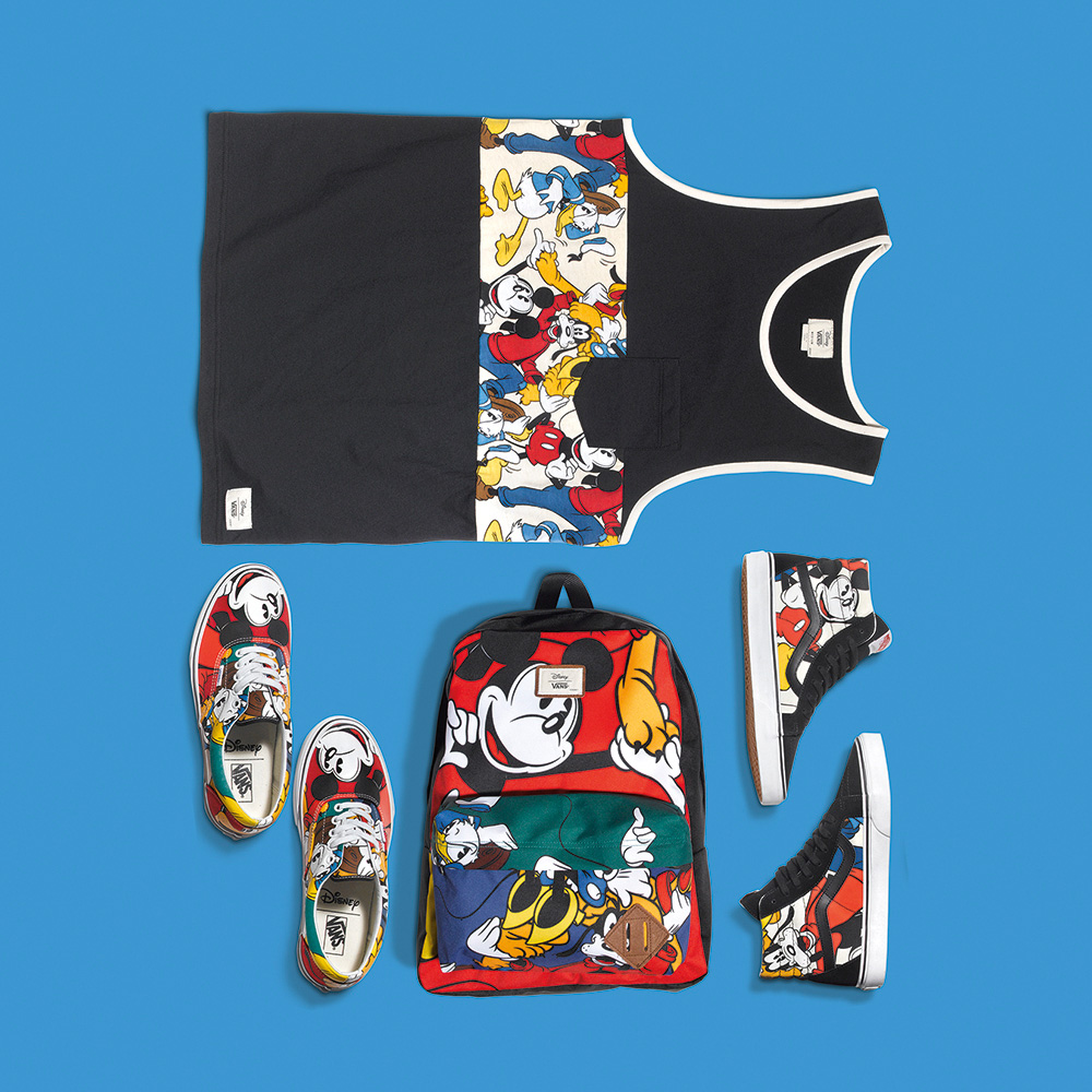 Vans x Disney_Mickey and friends pack