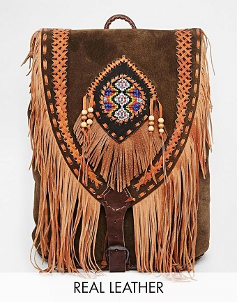 Fringed-Hand-Crafted-Leather-Backpack