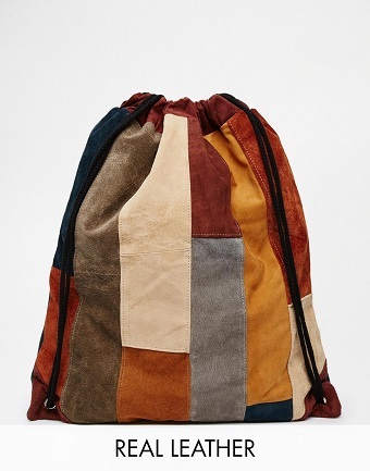 Suede-Drawstring-Backpack-in-Patchwork