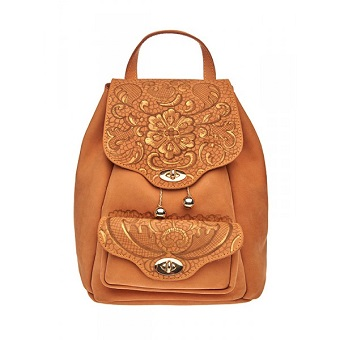 handpainted-backpack-camel-lace