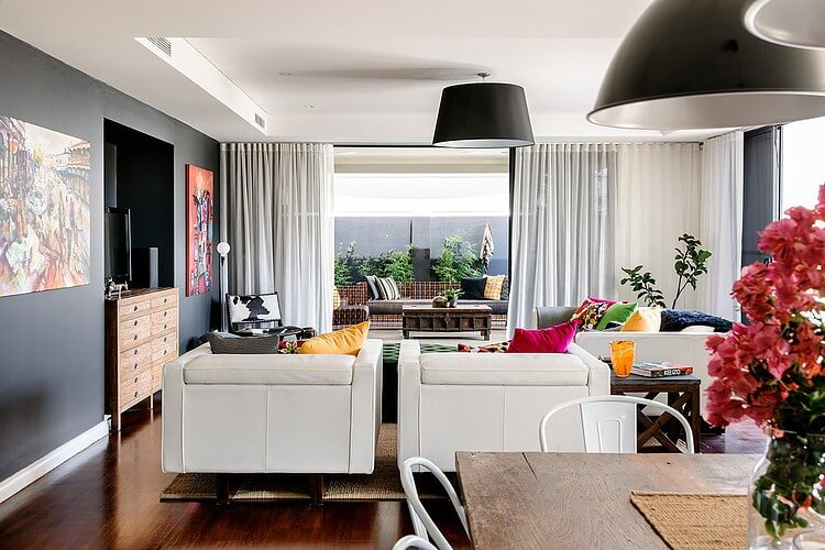 a residence full of color and vintage furniture_2