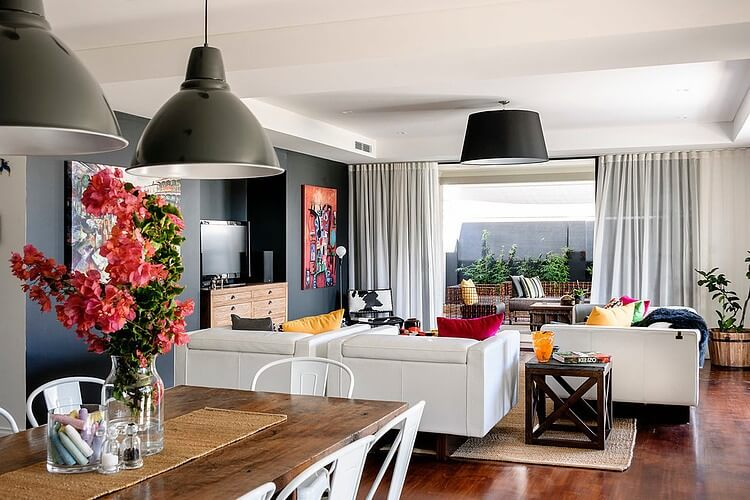 a residence full of color and vintage furniture_3