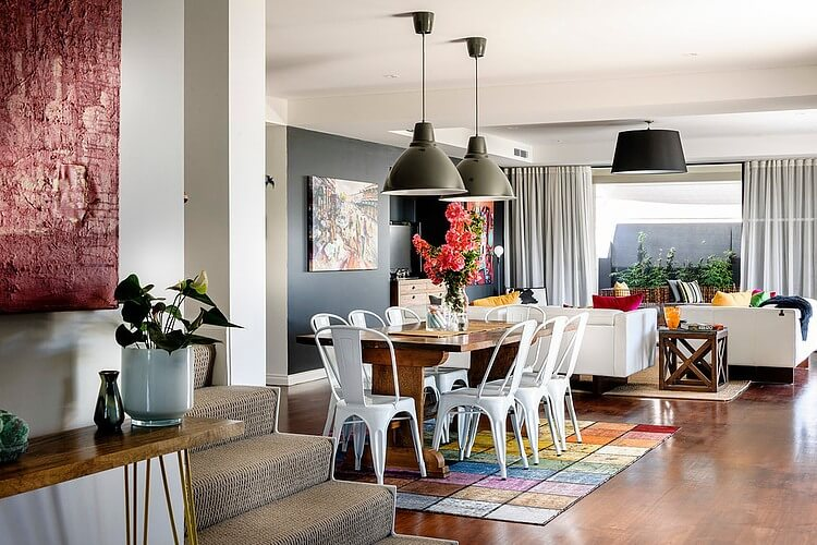 a residence full of color and vintage furniture_4