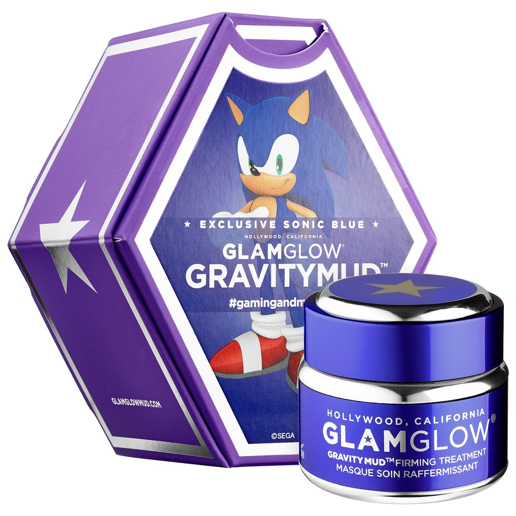 GlamGlow Sonic Blue GravityMud Firming Treatment