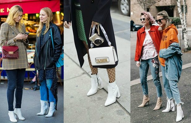 d6100d378cb White Ankle Boots – Δοκιμασε με στυλ ενα απο τα πιο hot trends της σεζον