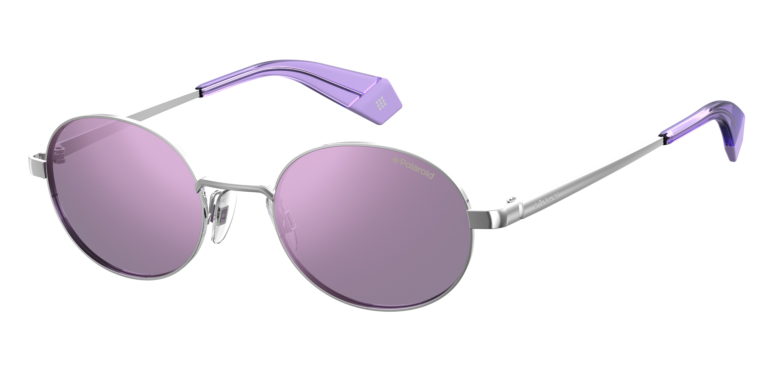 4c5288056a Τα γυαλιά ηλίου PLD 6066 s διαθέτουν οβάλ μεταλλική φόρμα με ακροβραχιόνια  στο χρώμα των φακών